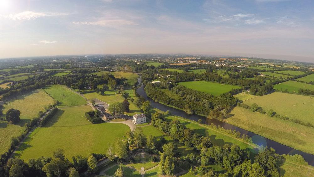 Over Head of Boyne Hill House Estate, Co. Meath