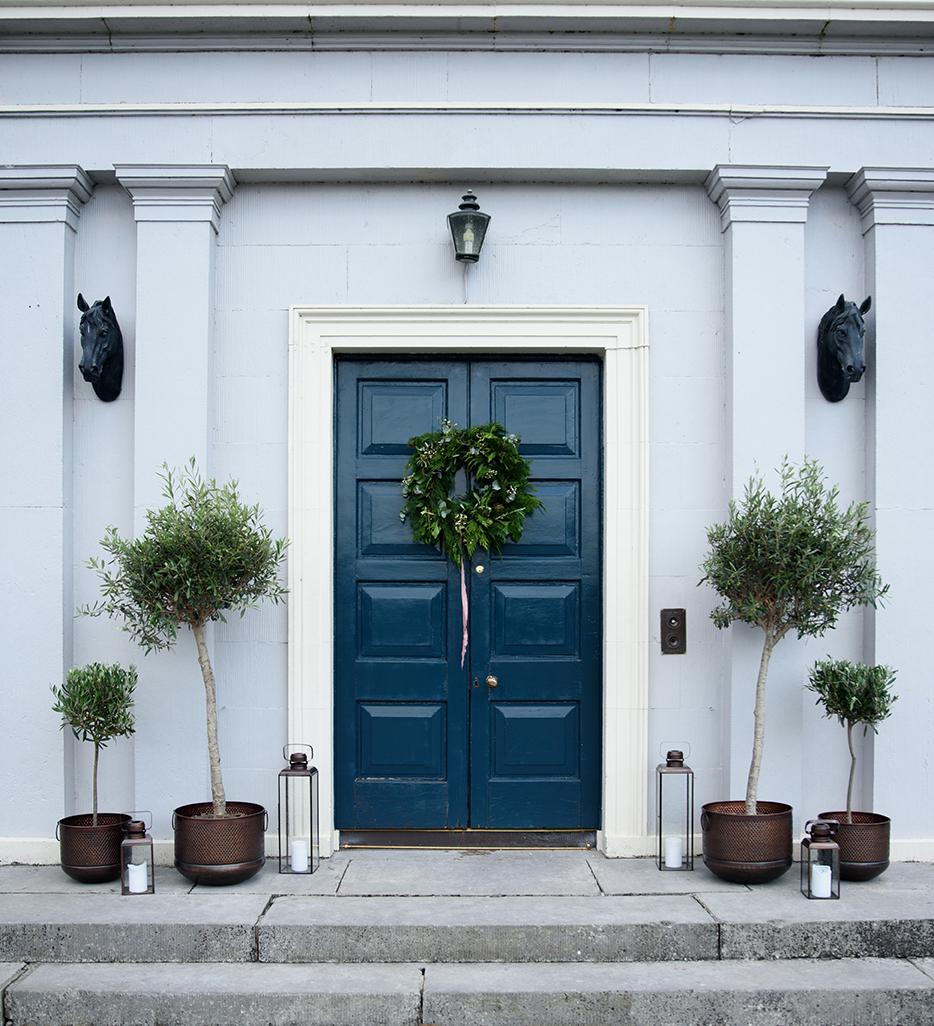 Front Entrance of Boyne Hill
