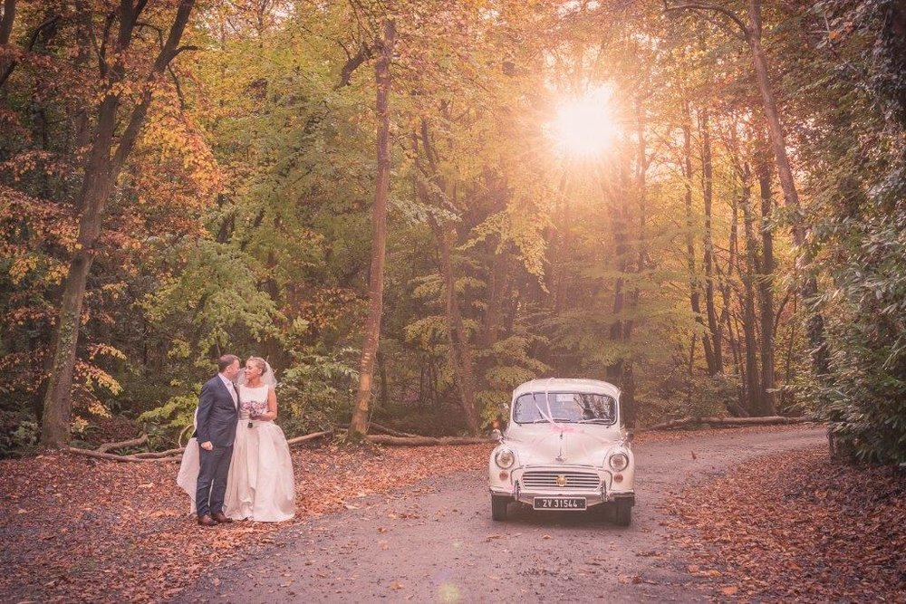 Winter Wedding at Boyne Hill