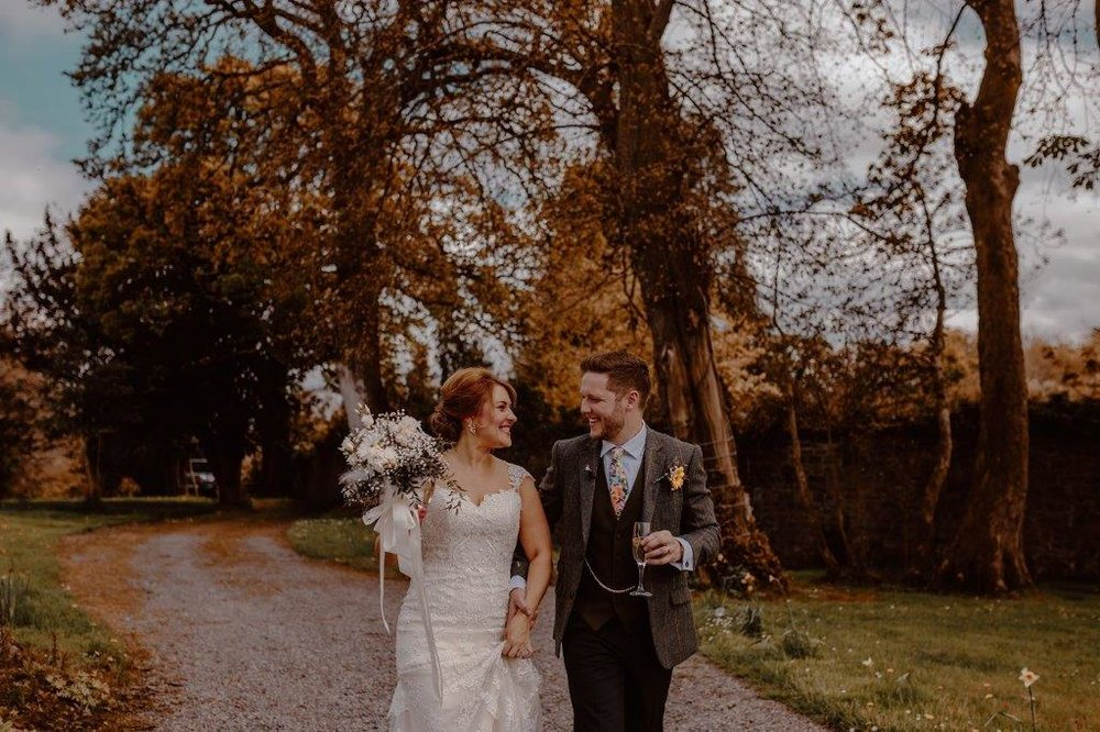 Couple at Boyne Hill House