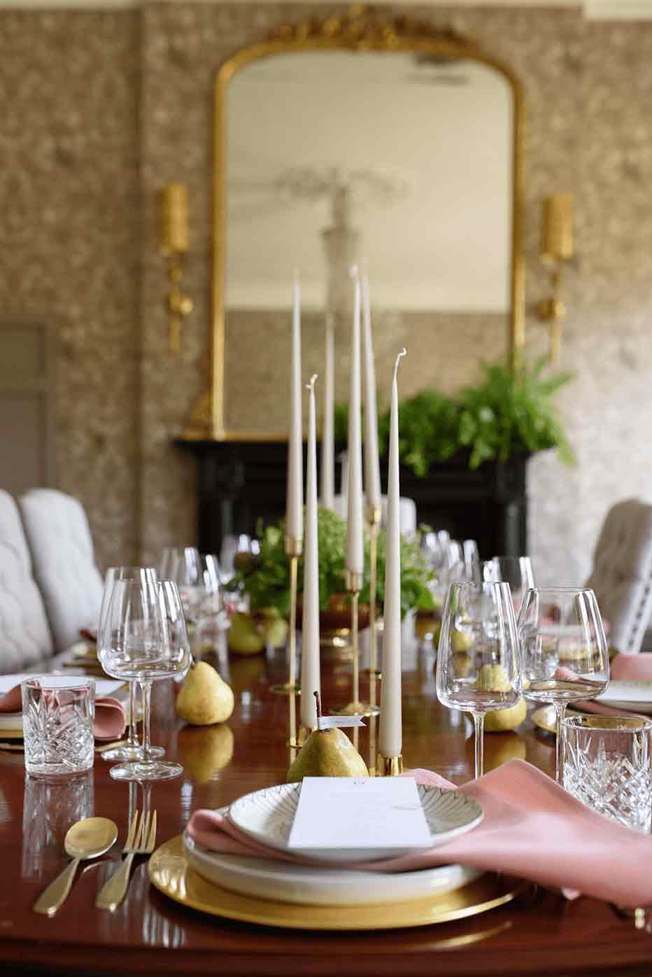 Boyne Hill House Banquet Wedding Dining