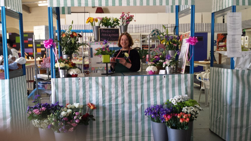 My first day of trading at Nenagh Indoor Market, October 2013