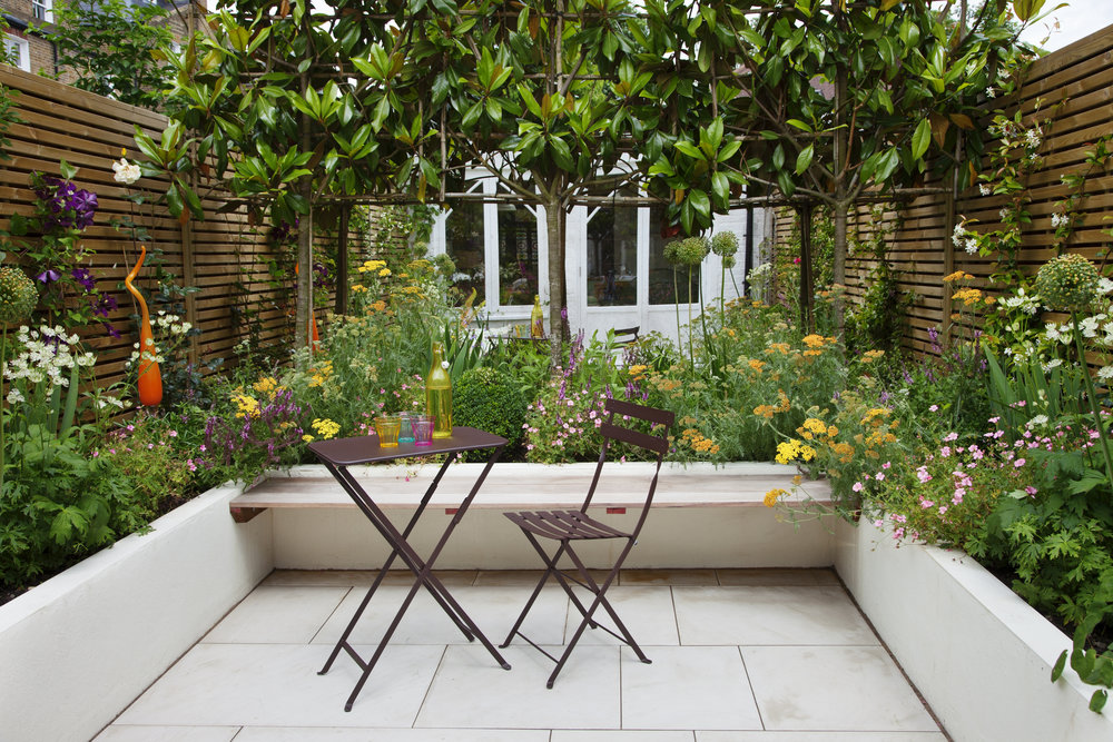 Charmant Courtyard Garden W6