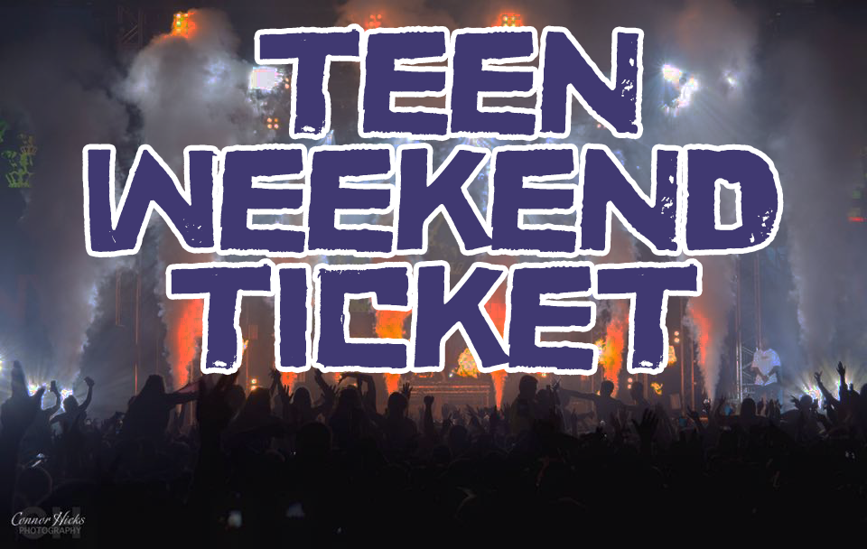 £64.49 + BF Early bird  Teen Weekend Ticket  ID REQUIRED BY ALL  -