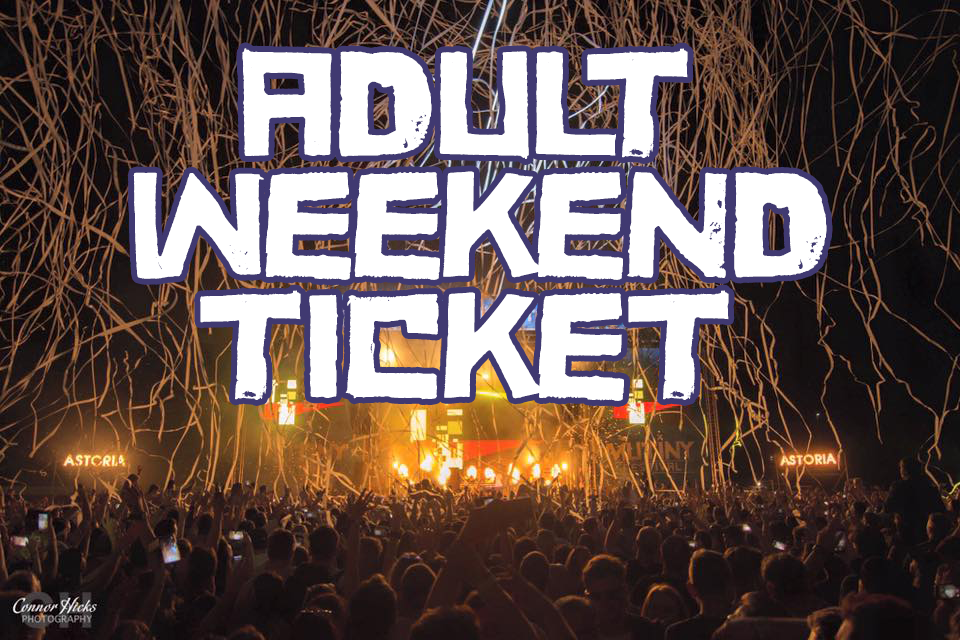 £74.49.00 + BF Early bird  Adult Saturday Ticket  18+ ONLY ID REQUIRED BY ALL  -