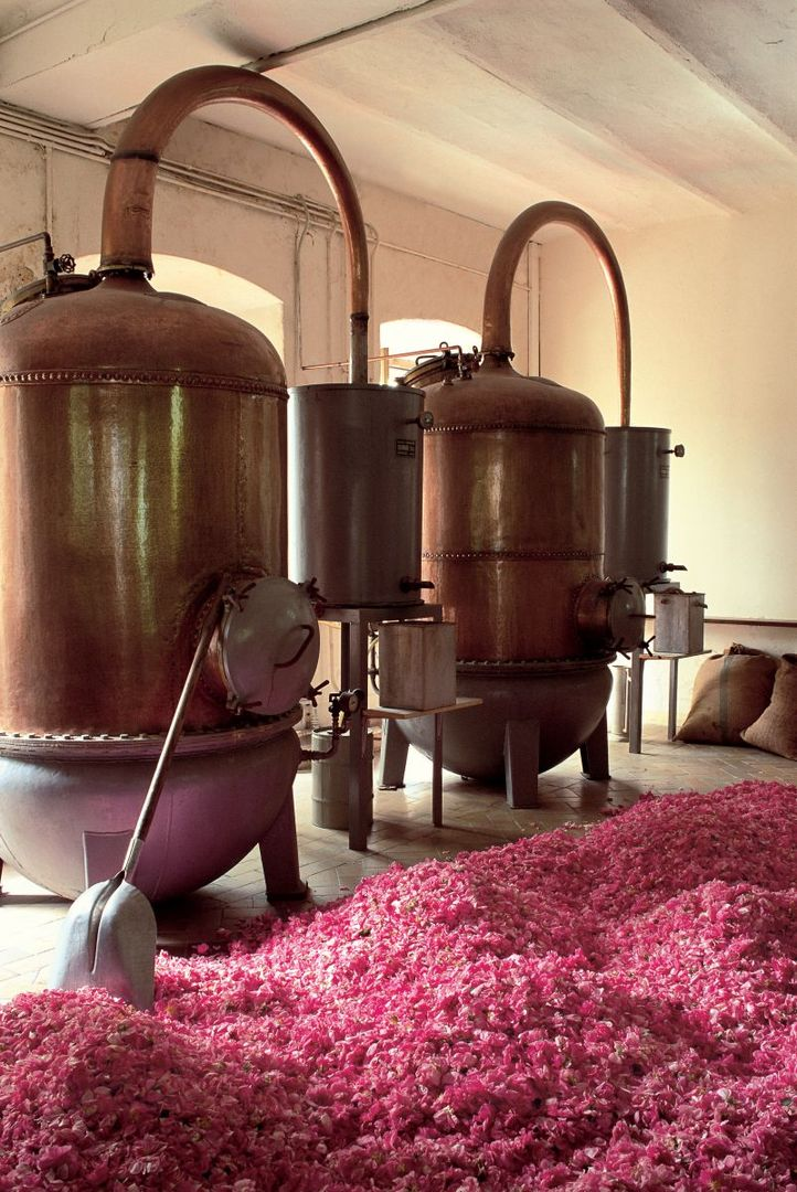 The best stills are traditionally made of copper for its special alchemy:   Copper absorbs Sulphur compounds and yeast cells, keeping the distillate free from fermentation byproducts and improving the aroma of the final product. It also reduces bacterial contamination, and the heat transfer properties are helpful for both the heating and cooling of vapours.