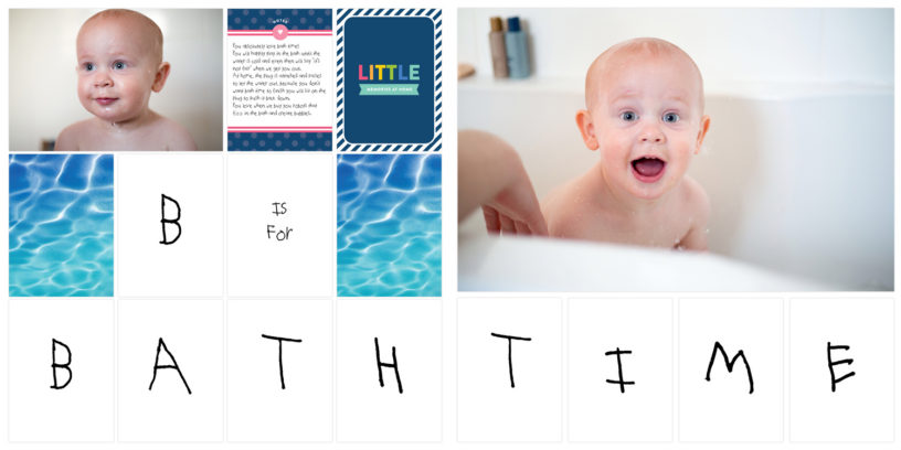 project life rut - creative challenge, alphabet book