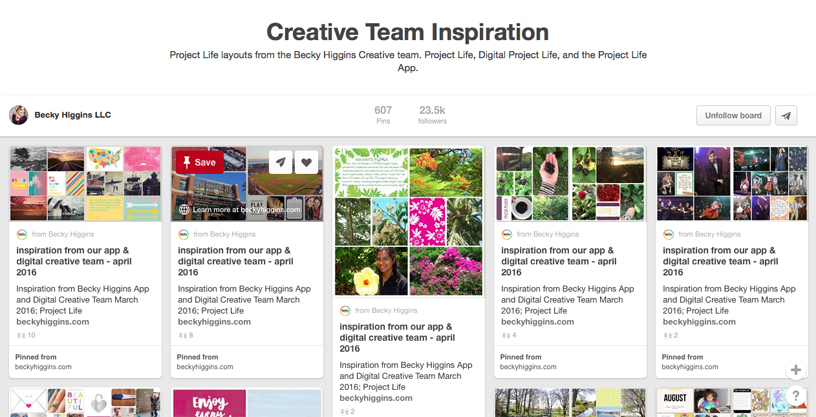 Creative Team Board