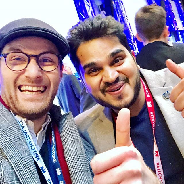 Winner Winner!!!!! Cracking pitch man 😃 big things to come I'm sure @equiwatt @7j.fernandes #pitchatpalace