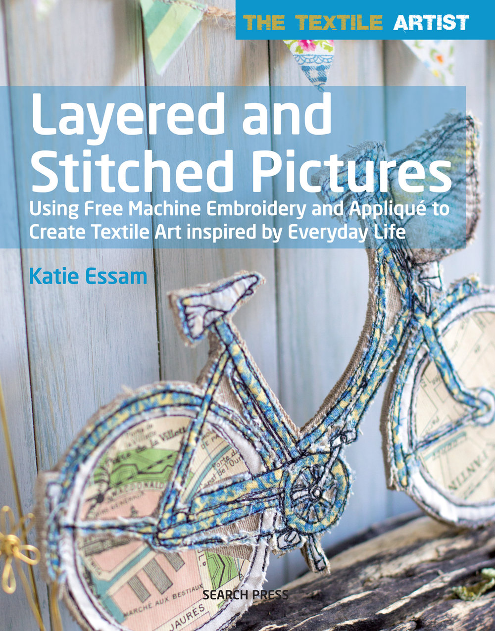 My New Book! - If you would like to learn how to make your own textile art, freehand machine embroider, applique and more. This book is for you, mixed mixed textiles in all it's glory, from inspiration, to design, even to framing and displaying your finished piece.Click the image for link