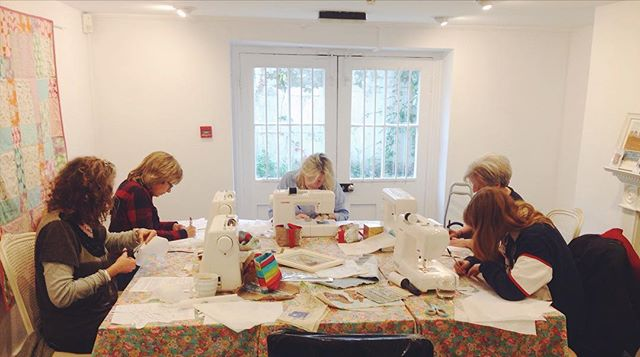 Creative concentration at the @pincushion_pantiles