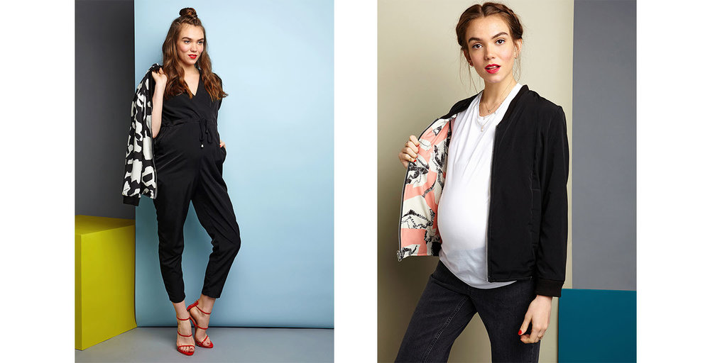 Jumpsuits and Bomber Jackets