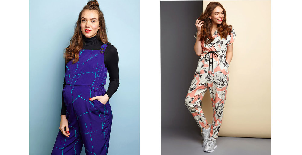 Maternity and Breastfeeding Jumpsuits