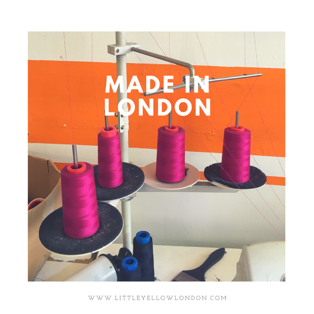 Made with Heart - The entire collection is produced by a family and FEMALE run factory in London. Paying all staff above and beyond minimum wage.