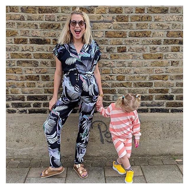 Hooray for the weekend!!! The sun is shining (we wish🤞) more stock has just landed and it's time to have fun with the family after a busy week. We LOVE LOVE LOVE this picture of Zoe @dresslikeamum wearing our ANNIE Jumpsuit this week. Seeing our collection being worn makes all of the hard work of running a small business all worth while.  Have a great weekend all Xxxxxx