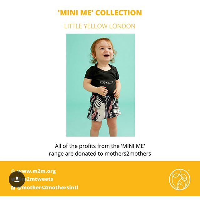 Why hello! We've been a bit quiet here over at Little Yellow London... sometimes trying to juggle my career as a stylist, running a business and getting ready for baby no.2 can all get a bit overwhelming. After a bit of quiet time on here we are now BACK And are excited to share this season's MINI ME's • Club Tropicana Nappy Covers & Bibs • with 'HEY BABY' babygrows • #twinningiswinning • ALL PROFITS from our MINI ME collection are donated to @mothers2mothers #shopforgood