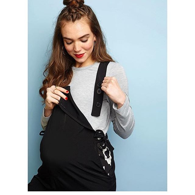 Thank you @absolutelymama for featuring our Lindsay Dungarees in this month's Style Picks #breastfeedingstyle #pregnancystyle #hotmuma #dungarees #summerstyle