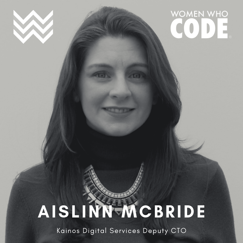 Aislinn McBride Kainos Digital Services Deputy CTO
