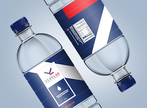 VERYLAK / Bouteille d'eau Conception, emballage