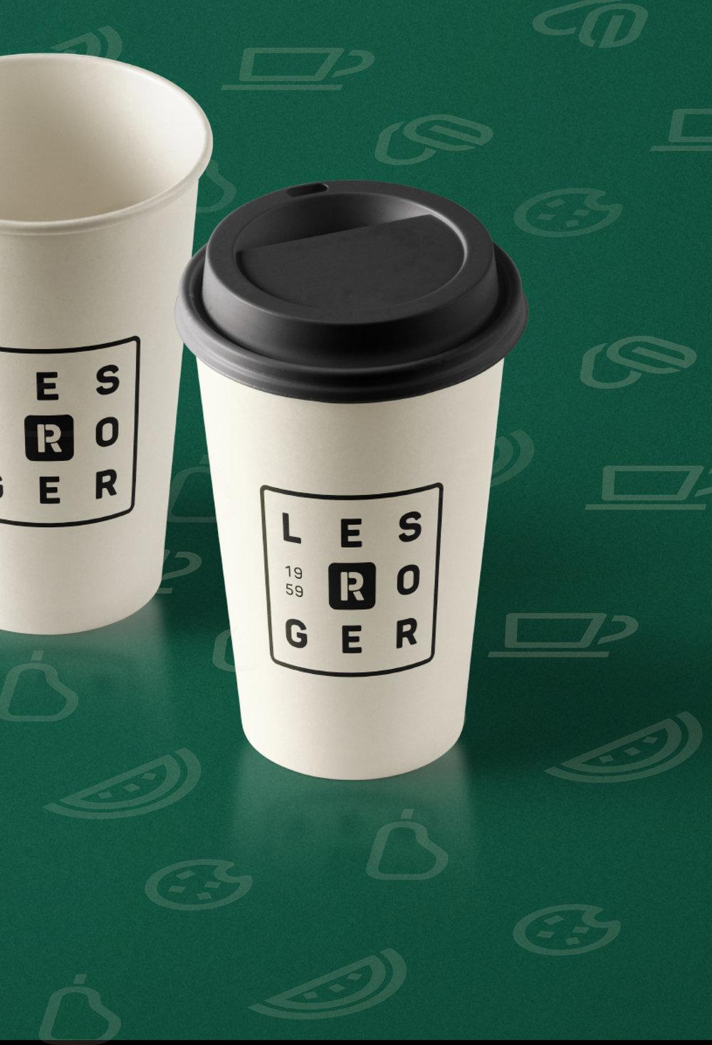 LES ROGER / Identité visuelle Logos, identité visuelle