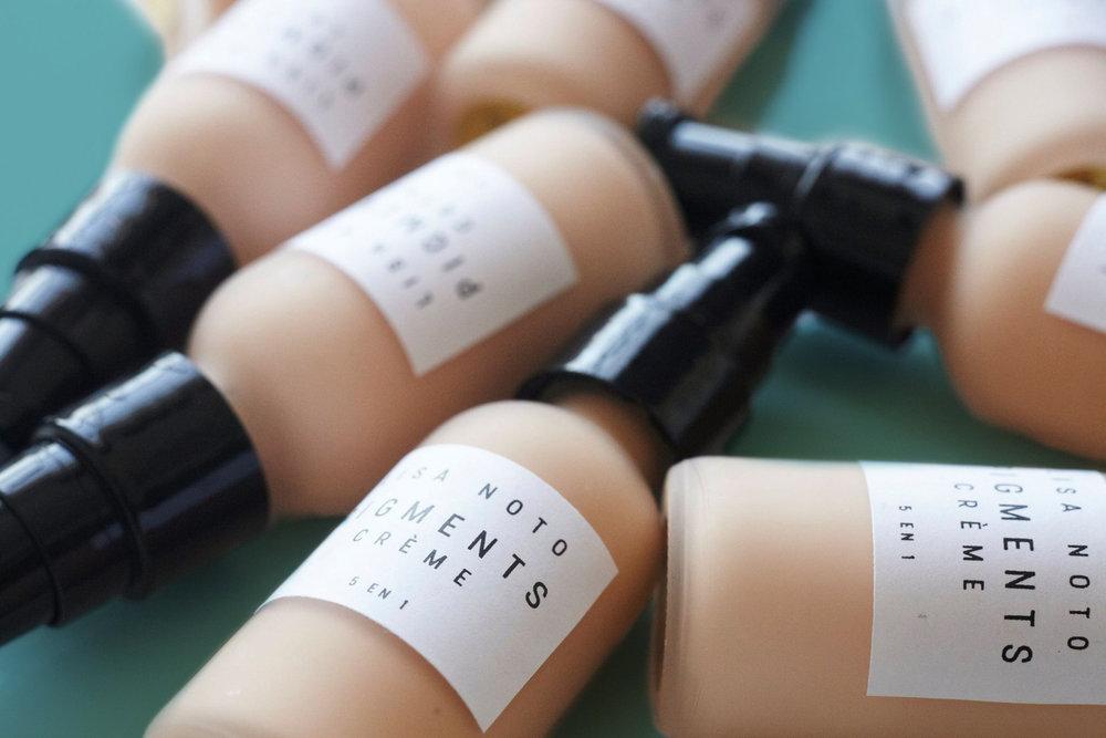 Étiquettes Cosmétique Lisa Noto
