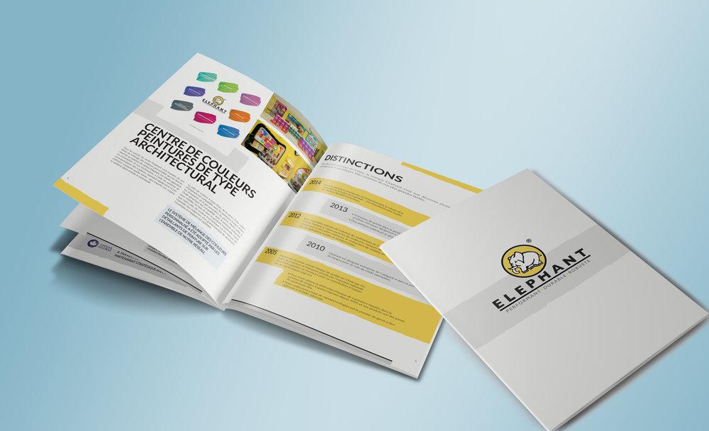 Brochure corporative Elephant