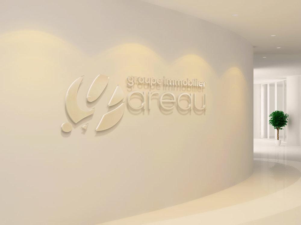 Enseigne lumineuse Groupe Gareau