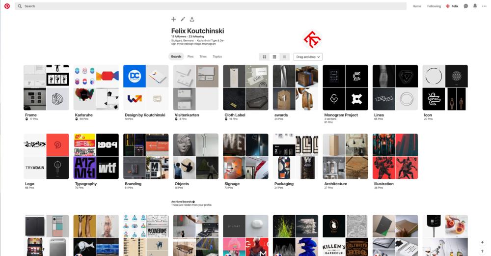 Pinterest, das bessere Google Images