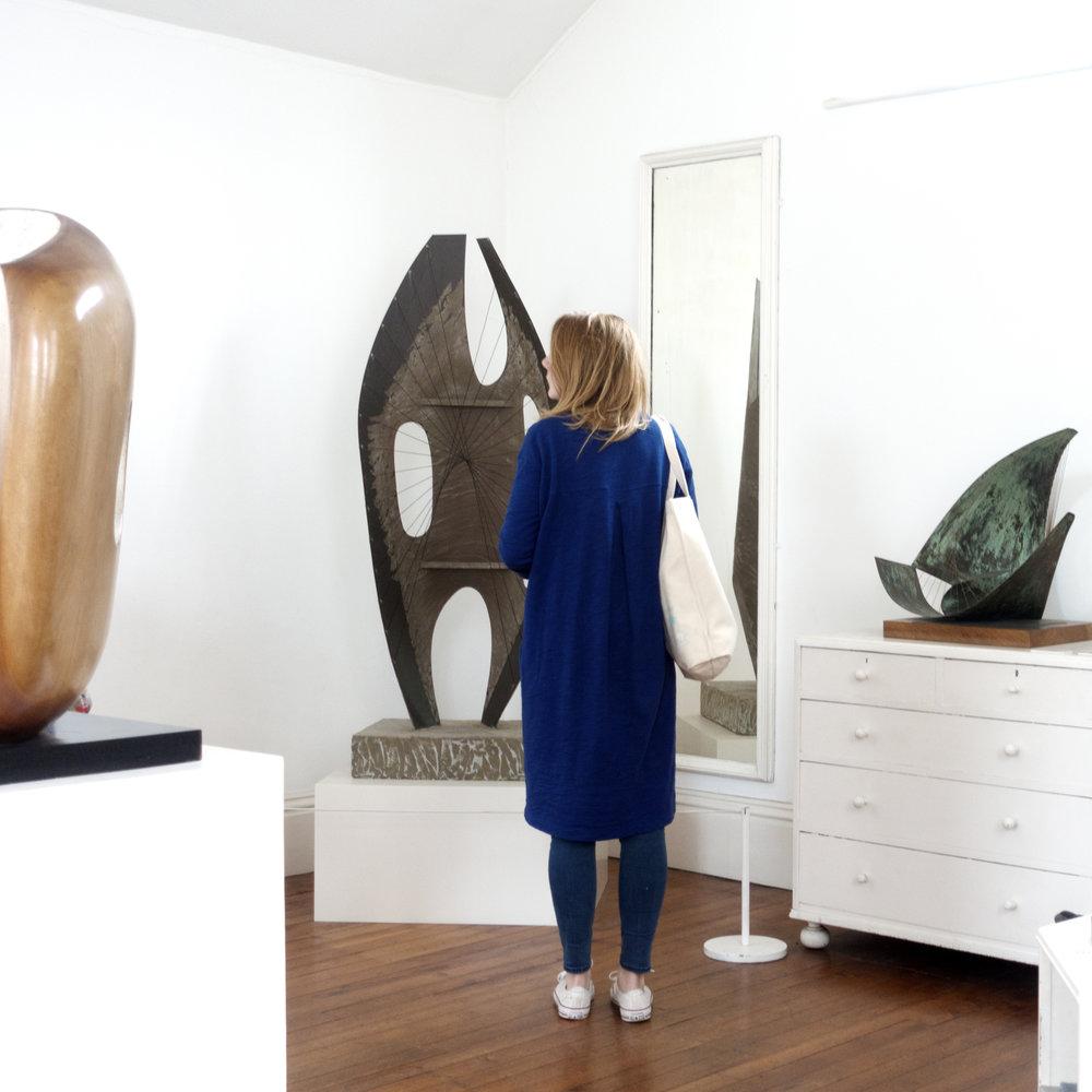 Barbara Hepworth's museum St Ives