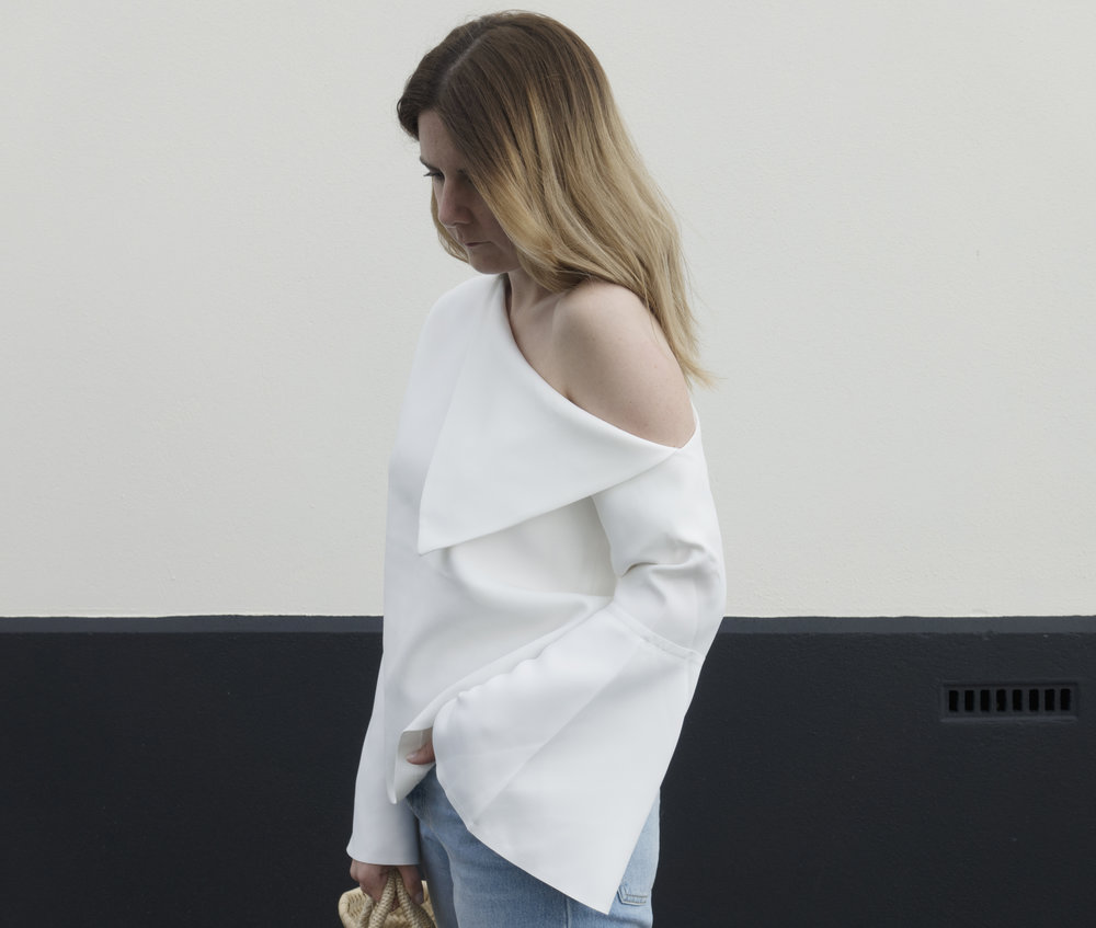 SS17 trend off the should bell sleeve top fashion buyer