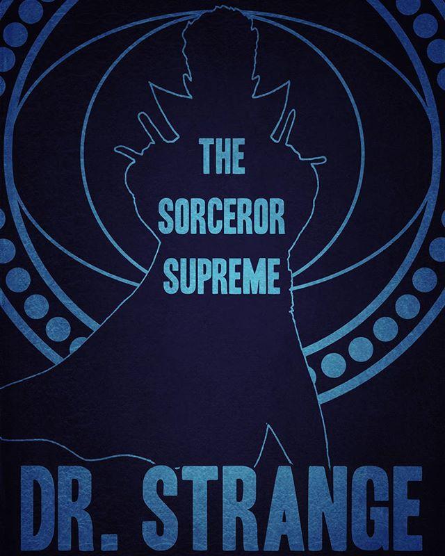 #drstrange #marvelcomics #marvel #art #illustration #sorcerorsupreme #design #graphicdesigner #comics #sebastianburton