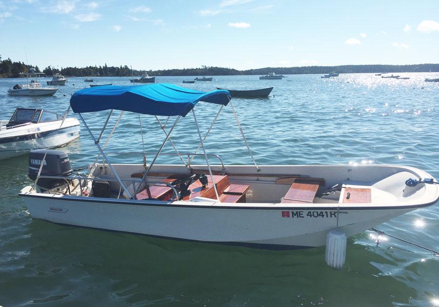 17ft Boston Whaler