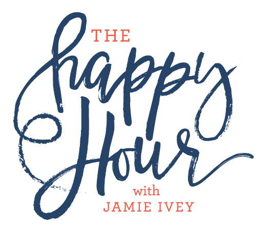 Check out Jamie's Podcast! - Each Happy Hour is one hour, but she's doing a series of 20-30 minute episodes called, If You Only Knew.