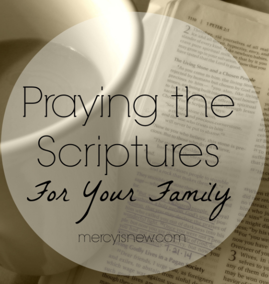 10 Benefits of Praying the Scripture