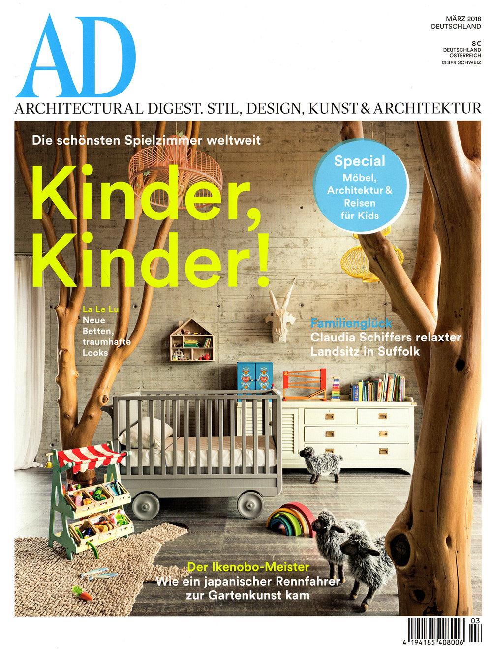 Architectural Digest Germany, 03-2018
