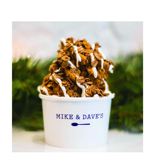 {Seasonal}Pumpkin Pie(*,gf) - snack me /315 cal meal me /631 calpumpkin basevanilla icingcinnamoncool whipalmond butteranke's cinnamon granola