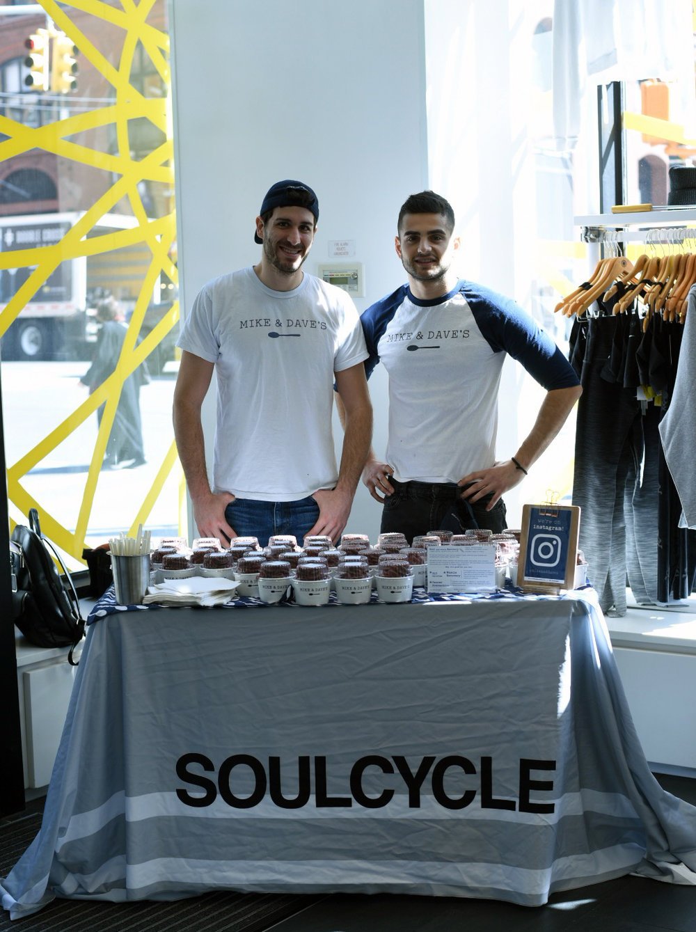 MIKE & DAVE'S X SOULCYCLE