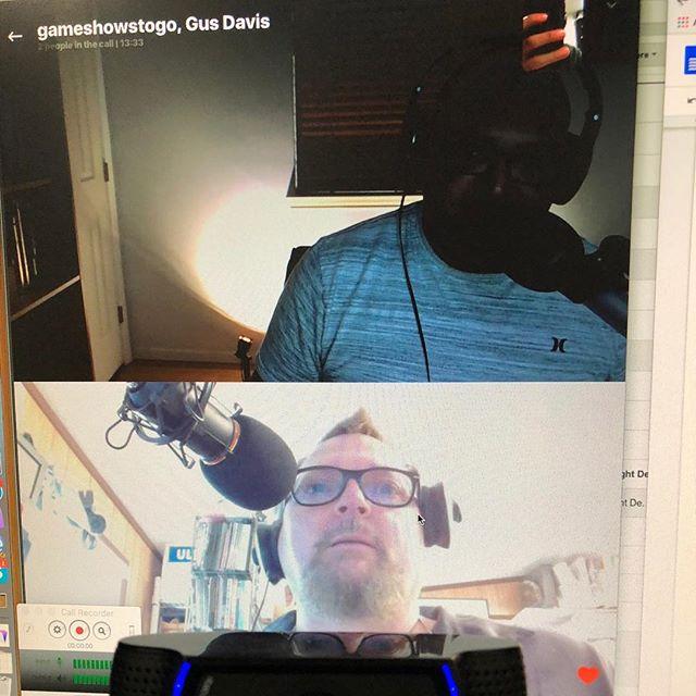 Sneak peak of next weeks guest! #namethatguy #podcast #skype