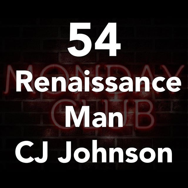 Renaissance man CJ Johnson is on the podcast today! CJ is done at off from being a magician, hypnotist to selling macramé. You're not gonna want to miss this episode! #linkinbio #podcast #mondays #peeps