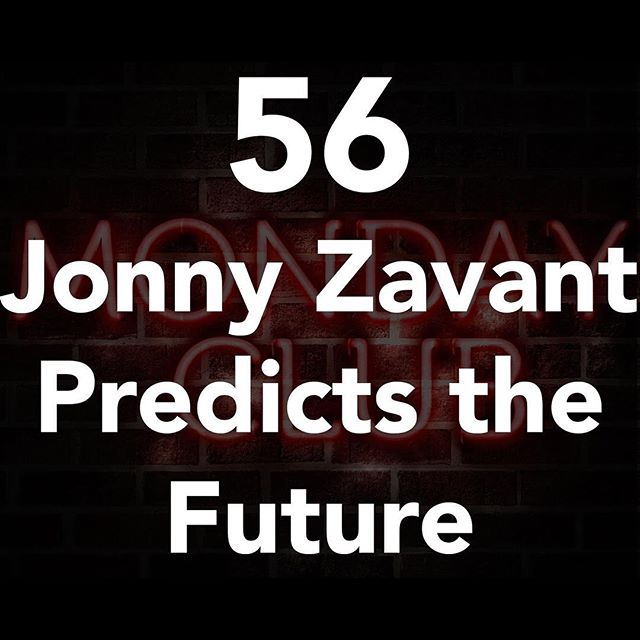 Special guest @jonnyzavant is hanging out in the club house this week. If you need some belly laughs this Monday then we got em! #linkinbio #podcast #skeptic #monday #mondaymotivation