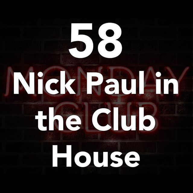 @nickpaulmagic visits Monday Club! International touring magician and host of 2 magicians 1 mic podcast. We talk about magic, international gigging and some hilarious road stories! Get your Monday fix right now! #linkinbio #monday #mondaymotivation #podcast #magic