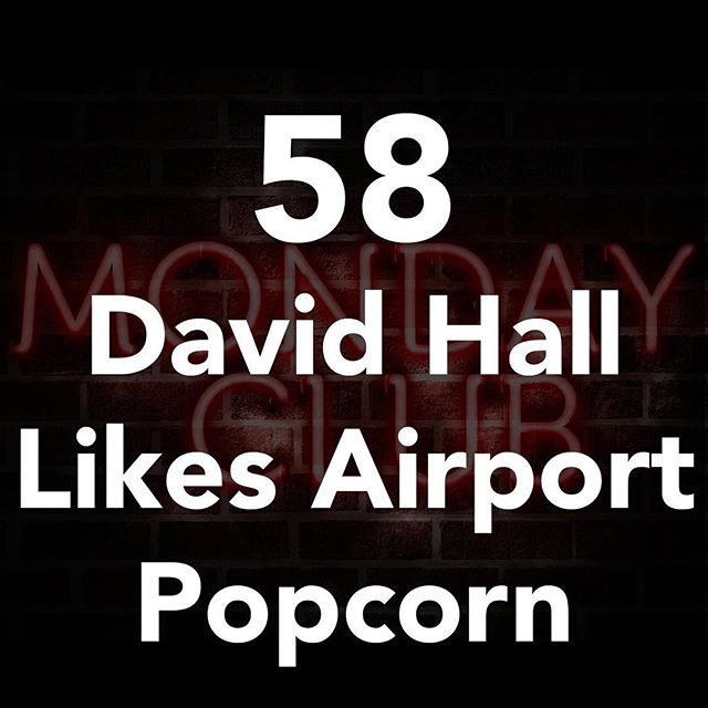 David hall is on the podcast! Nationally touring mentalist, hypnotist and magician. Start your week of right listen now! #linkinbio #podcast #popcorn #airport