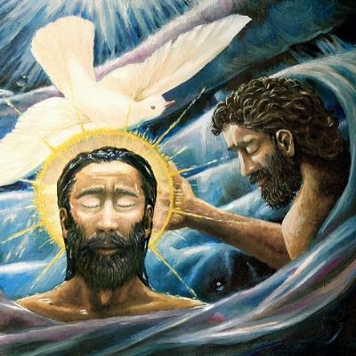 """Baptism of Christ 10"""
