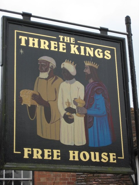 image:   The Three Kings Inn     by Philip Halling