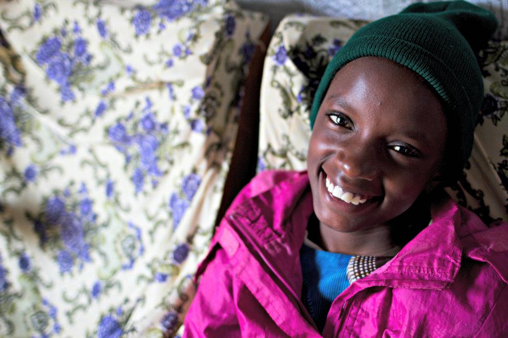 Serah, born w/spina bifida doing great!