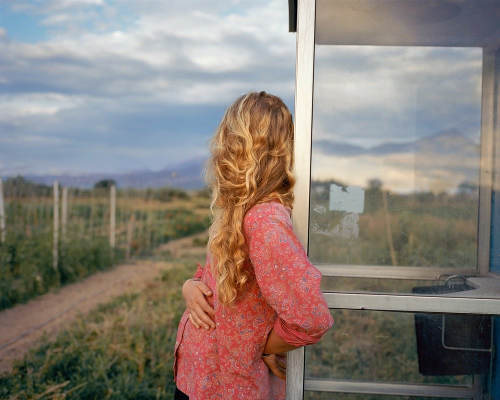 Davis Bailey, from the series, The North Fork Hotchkiss, Colorado, 2012 The series is inspired by the photographer's childhood memories, and an agrarian community in his home state of Colorado, USA