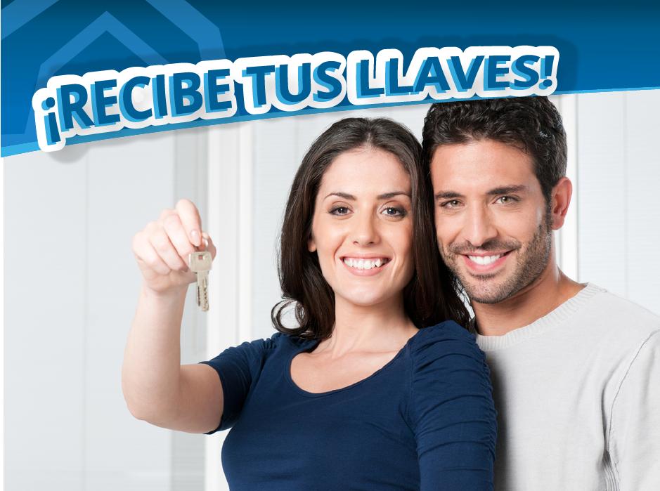Recibe tus llaves casas auge estrena casa departamento hogar credito infonavit