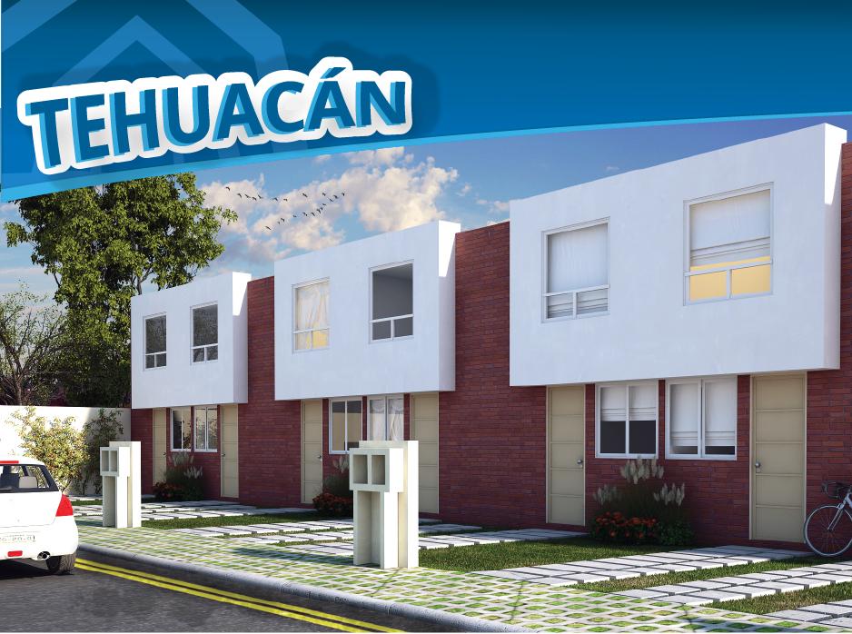 Tehuacan Puebla Casas Auge Residencial ifonavit credito