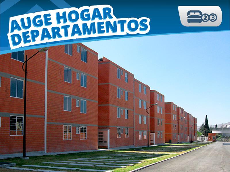 Prototipo Auge Hogar Departamentos Depas Infonavit Creditos Venta Puebla