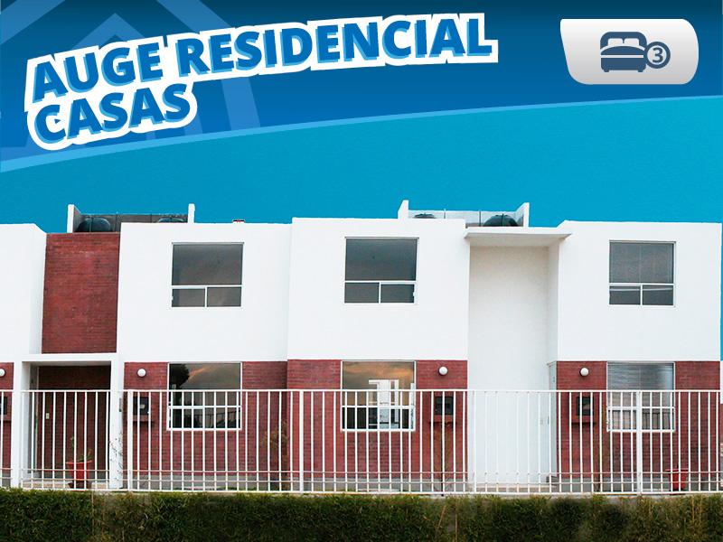 Auge Residencial Casas Venta Puebla Infonavit